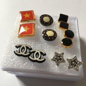 New women's 6 pairs Fashion Earrings
